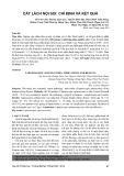 Cắt lách nội soi: chỉ định và kết quả