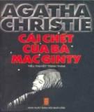 cái chết của bà mac ginty: phần 1 - nxb hội nhà văn