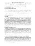 Phổ phản ứng đàn hồi và thiết kế kết cấu động đất - I. Phổ phản ứng đàn hồi