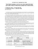 Tình trạng nghiêng, lún của các công trình dân dụng tại Hà Nội và một số kiến nghị về biện pháp phòng ngừa