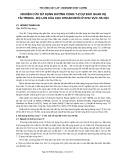 Nghiên cứu sử dụng đường cong T - Z dự báo quan hệ tải trọng - Độ lún của cọc khoan nhồi ở khu vực Hà Nội
