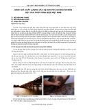 Đánh giá chất lượng các hệ sơn phủ chống ăn mòn kết cấu thép vùng biển Việt Nam