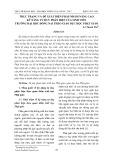 Thực trạng và đề xuất biện pháp nhằm nâng cao kỹ năng tư duy phản biện của sinh viên trường Đại học Đồng Nai theo giáo dục học Phật giáo