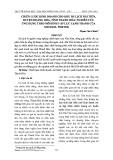 Chiến lược kinh doanh cho khu du lịch Hải Tiến, huyện Hoằng Hóa, tỉnh Thanh Hóa: nghiên cứu ứng dụng mô hình 5 áp lực cạnh tranh của Michael Porter