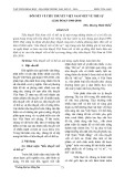 Đôi nét về tiểu thuyết Việt Nam viết về thế sự (giai đoạn 1986-2010)