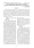 Phương pháp luận khoa học và mô hình xã hội lý tưởng trong New Atlantis của Ph.Bêcơn