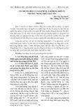 Vấn đề tha hóa và giải phóng lao động khỏi sự tha hóa trong triết học Mác