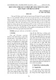 Khả năng sinh sản và phân huỷ rác của giun quế (Perionyx excavatus prrrier, 1872) ở quy mô hộ gia đình