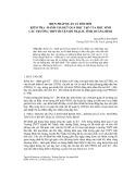Biện pháp quản lý đổi mới kiểm tra - Đánh giá kết quả học tập của học sinh các trường THPT huyện Bố Trạch, tỉnh Quảng Bình Nguyễn Văn Nhẫn