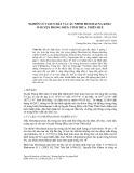 Nghiên cứu giun đất và các nhóm Mesofauna khác ở huyện phong điền, tỉnh Thừa Thiên Huế