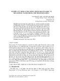 Nghiên cứu định lượng đồng thời paracetamol và diclofenac natri trong chế phẩm bằng HPLC