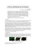 Nghiên cứu thành phần hóa học của dịch chiết lá cây chè xanh ở Truồi, Phú Lộc, Thừa Thiên Huế