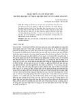 Nhận thức của nữ sinh viên trường Đại học Sư phạm, Đại học Huế về sức khỏe sinh sản