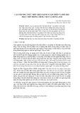 Các phương thức biểu hiện hành vi xin phép và hồi đáp trực tiếp trong tiếng Việt và tiếng Anh