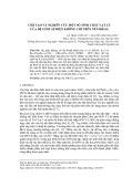 Chế tạo và nghiên cứu một số tính chất vật lý của hệ gốm áp điện không chì trên nền BiFeO3