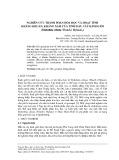 Nghiên cứu thành phần hóa học và hoạt tính kháng khuẩn, kháng nấm của tinh dầu cây kinh giới (Elsholtzia ciliata (Thunb.) Hyland.,)