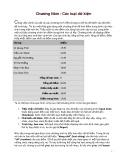 Giáo trình Lập trình Visual Basic căn bản: Chương 5