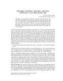 Liên minh an ninh Mỹ - Nhật Bản - Hàn Quốc ở Đông Bắc Á sau chiến tranh lạnh
