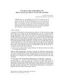 Ứng dụng công nghệ thông tin trong giảng dạy môn Tư tưởng Hồ Chí Minh