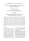 Nghiên cứu khả năng hấp phụ Ni(II), Cr(VI) của than chế tạo từ thân cây Sen