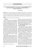 Xây dựng phương trình tương quan thực nghiệm xói mòn (áp dụng cho lưu vực suối Sập và Phiêng Hiềng thuộc tỉnh Sơn La)