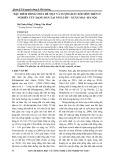 Đặc điểm dòng chảy bề mặt và lượng đất xói mòn trên ô nghiên cứu dạng bản tại núi Luốt - Xuân Mai - Hà Nội