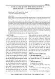 Đánh giá hiệu quả mô hình trồng ớt sừng F1 trong mùa mưa tại Trảng Bom, Đồng Nai