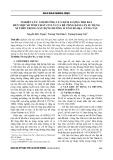 Nghiên cứu ảnh hưởng của hàm lượng tro bay đến một số tính chất cơ lý của bê tông đầm lăn sử dụng xỉ thép trong xây dựng đường ô tô ở Bà Rịa - Vũng Tàu