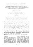 Tổng hợp và nghiên cứu khả năng phát quang của phức chất Eu(III), Gd(III), Tb(III), Yb(III) với hỗn hợp phối tử 2 Phenoxybenzoat và O-Phenantrolin