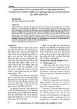 Ảnh hưởng của loại phân hữu cơ đến sinh trưởng và năng suất giống chùm ngây (Moringa oleifera Lam.) Ninh Thuận tại tỉnh Đồng Nai