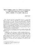 Một vài khía cạnh của chính sách đất đai và ảnh hưởng đối với sự phát triển Nông nghiệp, nông thôn Việt Nam