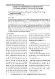 Nghiên cứu nhân giống in vitro Re hương Cinnamomum parthenoxylon (Jack) Meisn