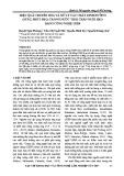 Hiệu quả chuyển hóa và xử lý các chất dinh dưỡng (Nitơ, Phốt pho) trong nước thải chăn nuôi heo bằng công nghệ USBF
