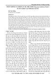 Nhân giống in Vitro cây Hà thủ ô đỏ (Polygonum multiforum Thunb.) tuyển chọn tại tỉnh Hà Giang
