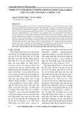 Nghiên cứu nuôi trồng nấm Đông trùng hạ thảo (Cordyceps militaris) trên gái thể tổng hợp và nhộng tầm