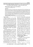 Một số đặc điểm Sinh học, sinh thái của nấm Ceratocystis manginecans gây bệnh chết héo keo lá tràm tại Việt Nam
