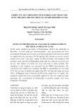 Nghiên cứu quy trình phân tích Norketamin trong mẫu nước tiểu bằng phương pháp sắc ký khí khối phổ (GC/MS)
