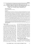 Ảnh hưởng của những đặc tính ở tầng đất mặt đến tái sinh tự nhiên của Dầu con rái (Dipterocapus alatus Roxb) trong rừng kín thường xanh ẩm nhiệt đới ở trong khu vực Tân Phú thuộc tỉnh Đồng Nai