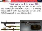 Bài giảng Giới thiệu một số loại vũ khí bộ binh - Bài 4: Súng diệt tăng B40