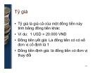 Bài giảng môn Kinh tế học tiền tệ - Ngân hàng: Bài 11 - TS. Nguyễn Anh Tuấn