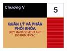Bài giảng Nhập môn an toàn hệ thống thông tin: Chương 5 - Trần Thị Kim Chi
