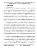 SKKN: Một số biện pháp giúp trẻ 4 – 5 tuổi lớp chồi 1 học tốt môn khám phá khoa học tại trường Mầm non Bình Minh- Buôn Tuôr A- Xã Dray Sáp- Huyện Krông Ana- Đăk Lăk