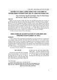 Nghiên cứu định lượng đồng thời curcumin và piperin bằng phương pháp sắc ký lỏng hiệu năng cao