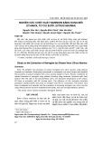 Nghiên cứu chiết xuất naringin bằng dung môi ethanol từ cùi bưởi
