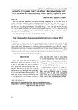 Nghiên cứu nhận thức về bệnh tâm thần phân liệt của người dân trong cộng đồng tại Hà Nội năm 2013