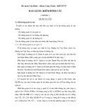 Bài giảng Kiểm định cầu - ĐH Giao thông Vận tải
