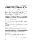 Nhận xét đặc điểm tổn thương và căn nguyên vi khuẩn áp xe vú điều trị tại Bệnh viện Quân y 103