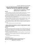 Khảo sát nồng độ dioxin trong máu ở người phơi nhiễm với chất độc da cam/dioxin tại Đà Nẵng
