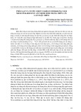 Phân lập và tuyển chọn vi khuẩn đối kháng nấm Neoscytalidium sp. gây bệnh đốm trắng trên cây lan Ngọc điểm