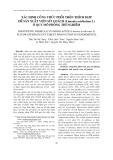 Xác định công thức phối trộn thích hợp để sản xuất viên sủi quách (Limonia acidissima L) ở quy mô phòng thí nghiệm
